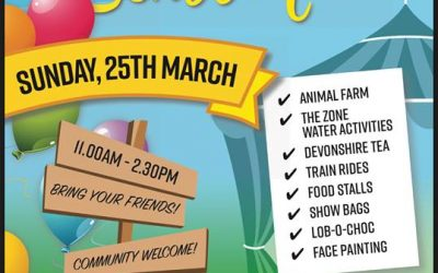 St Francis Fete Sunday 25th March 11-2.30pm